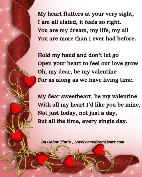valentine's poems - photo #22